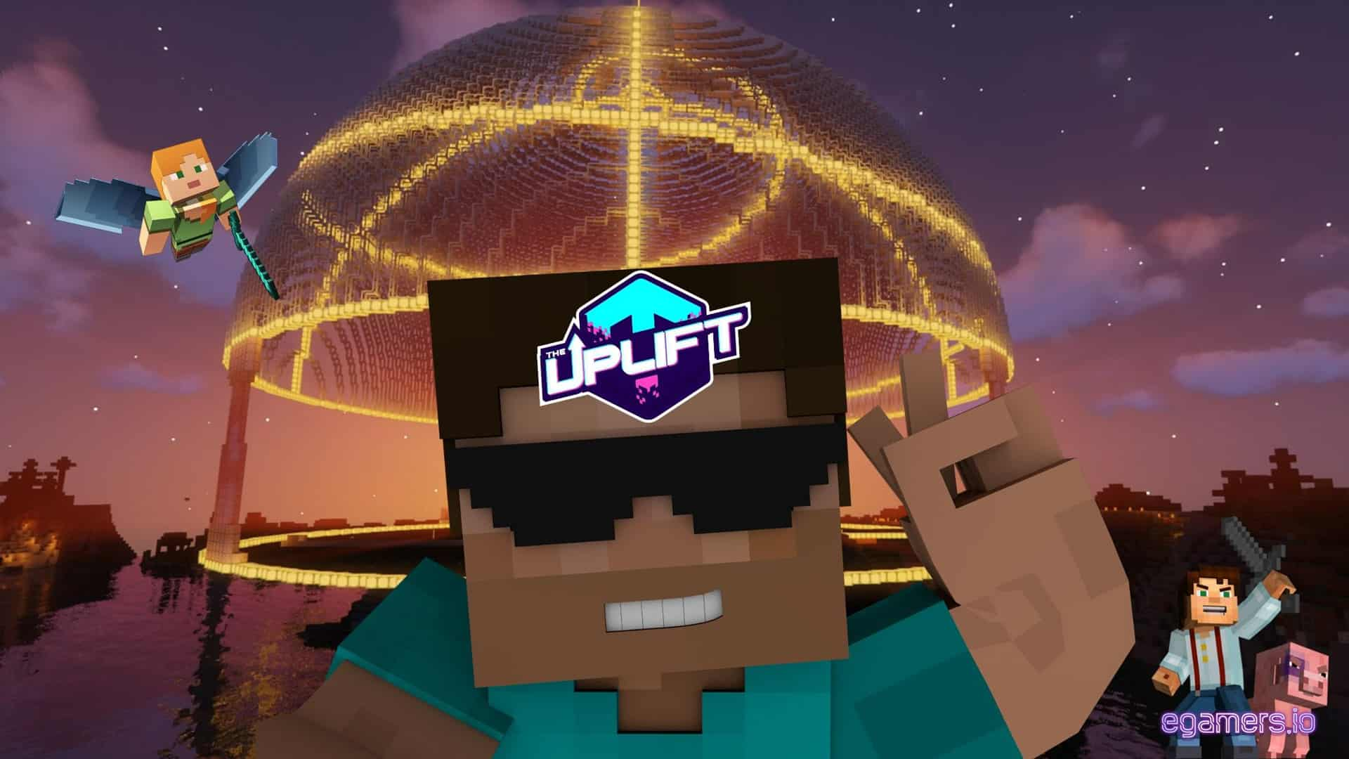 Play to earn Minecraft Server, Uplift