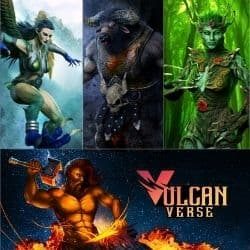 VulcanVerse Virtual World MMORPG Game.