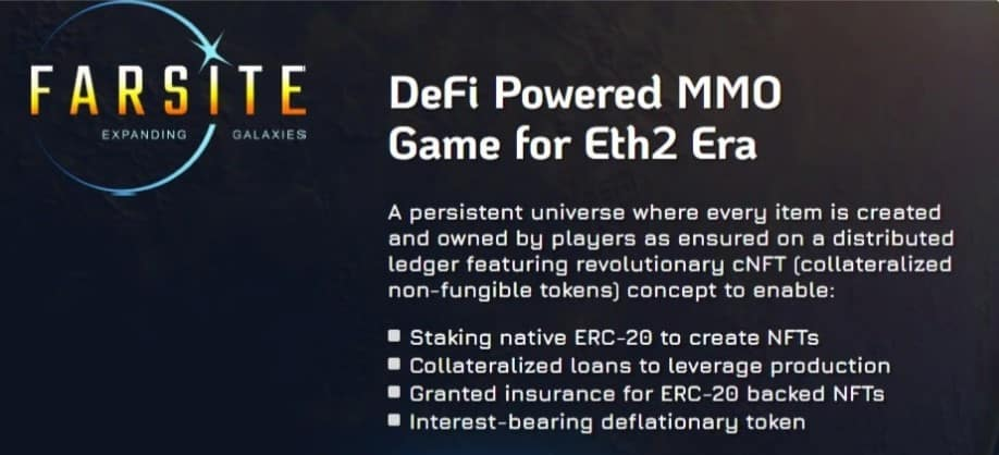what is farsite blockchain game by mcp