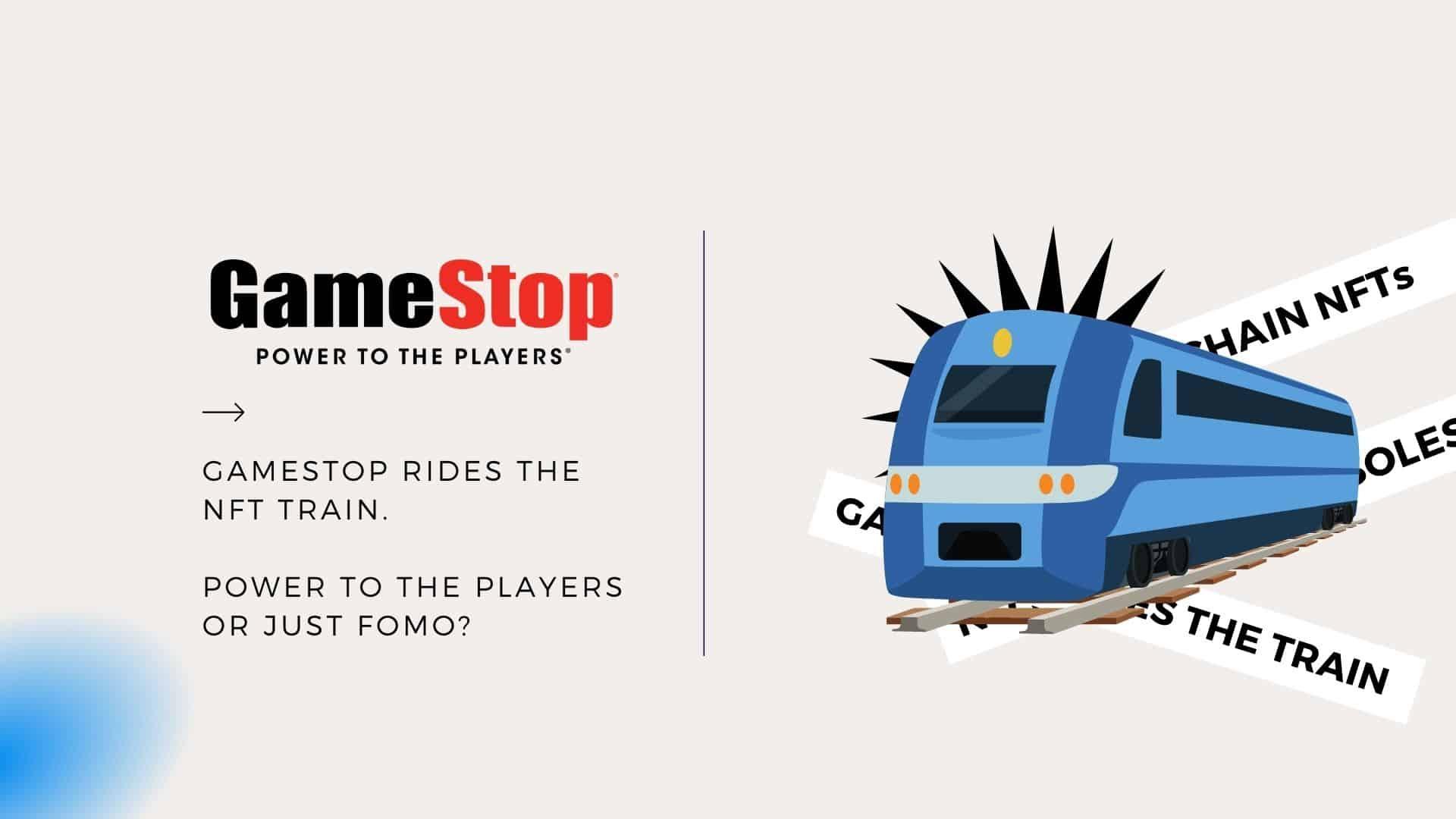 GameStop Rides The NFT Train