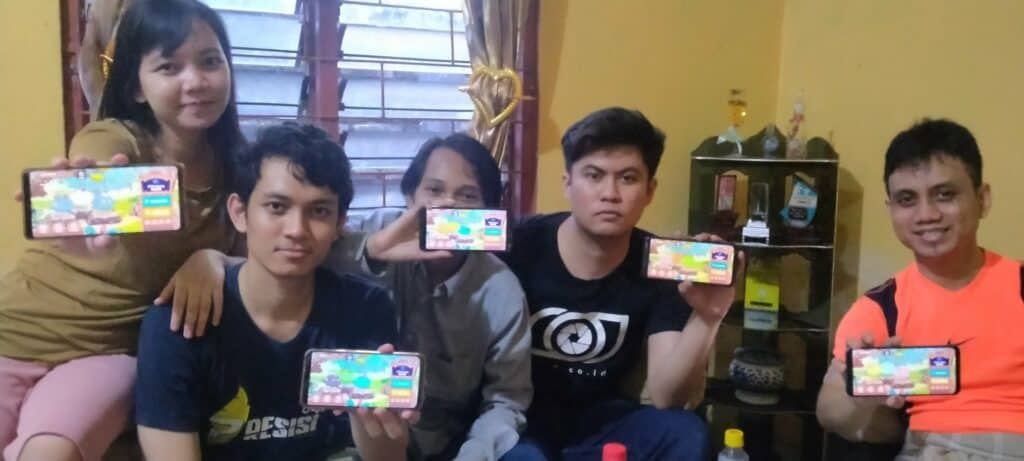 A Team of Indonesian Axie Infinity players