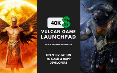 Vulcan Game Launchpad: $40k Development Grant For 50 Teams.