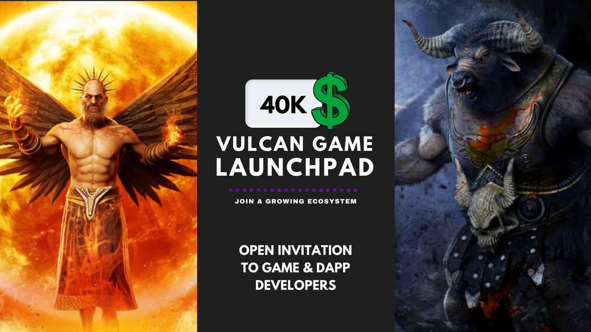 Vulcan Game Launchpad