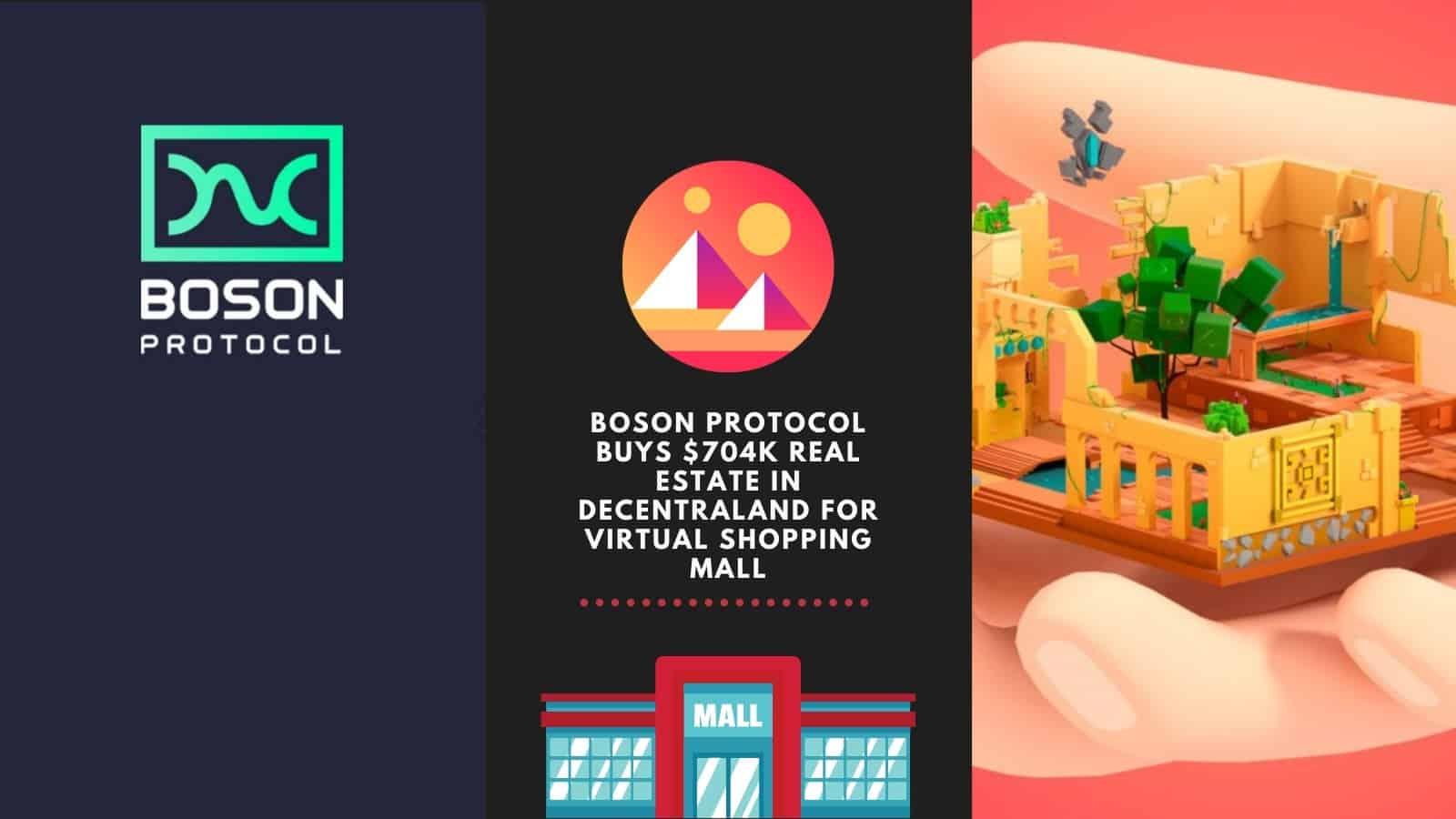 Boson Protocol Buys $704k Real Estate In Decentraland
