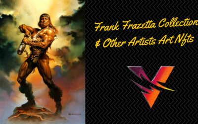 Frank Frazetta Art & Other Major Artists IP Coming to Vulcan Forged as NFTs