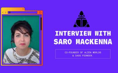Alien Worlds Interview With Co-Founder Saro Mckenna