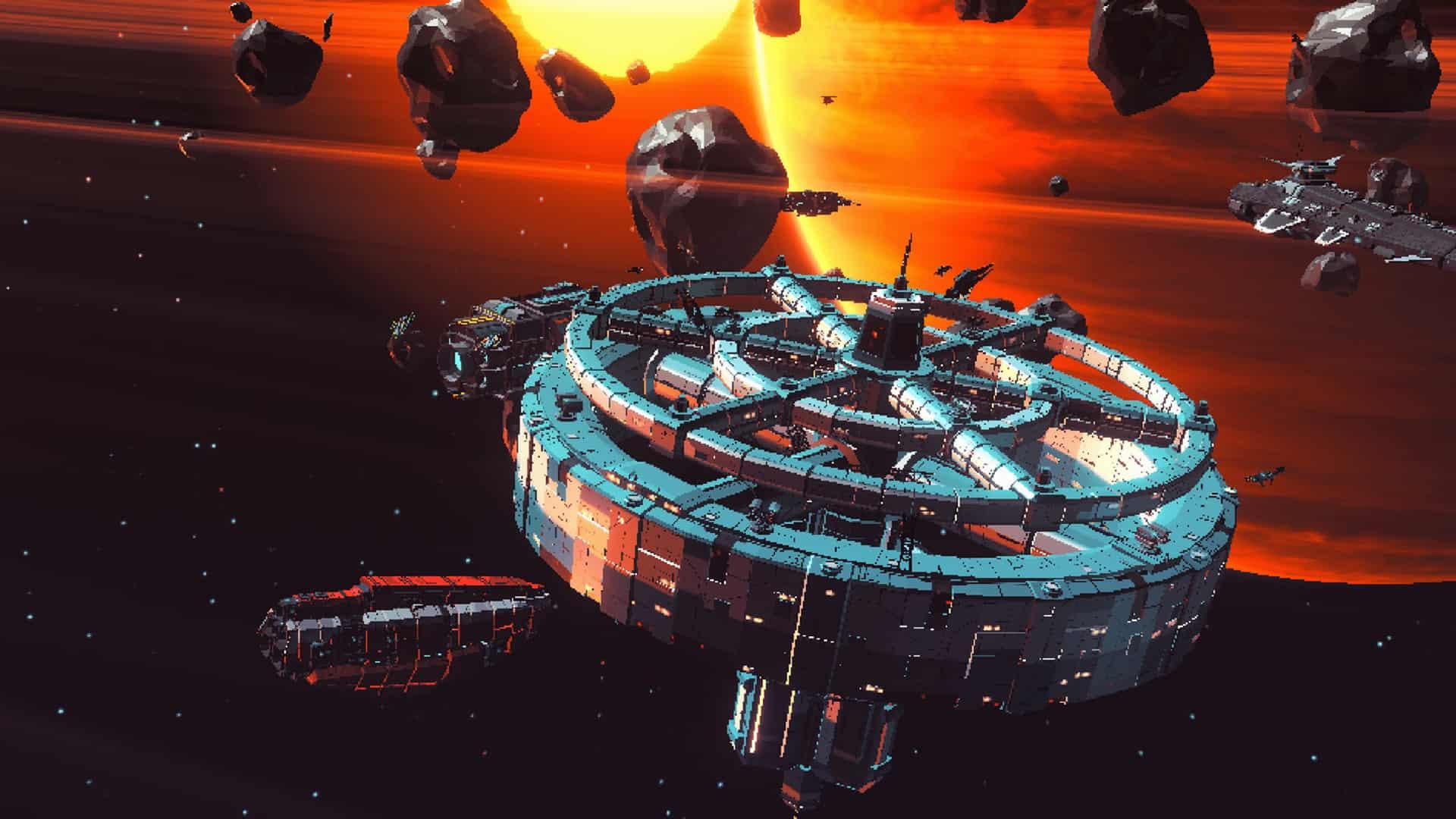 Space Misfits Blockchain Game