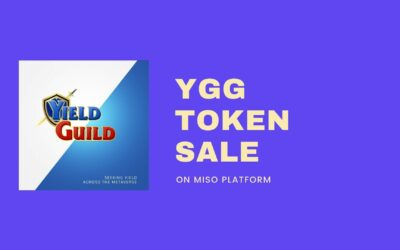 Yield Guild Games Token Sold Out In 31 Seconds