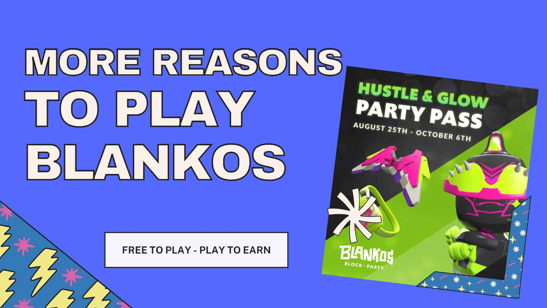 Blankos block party event