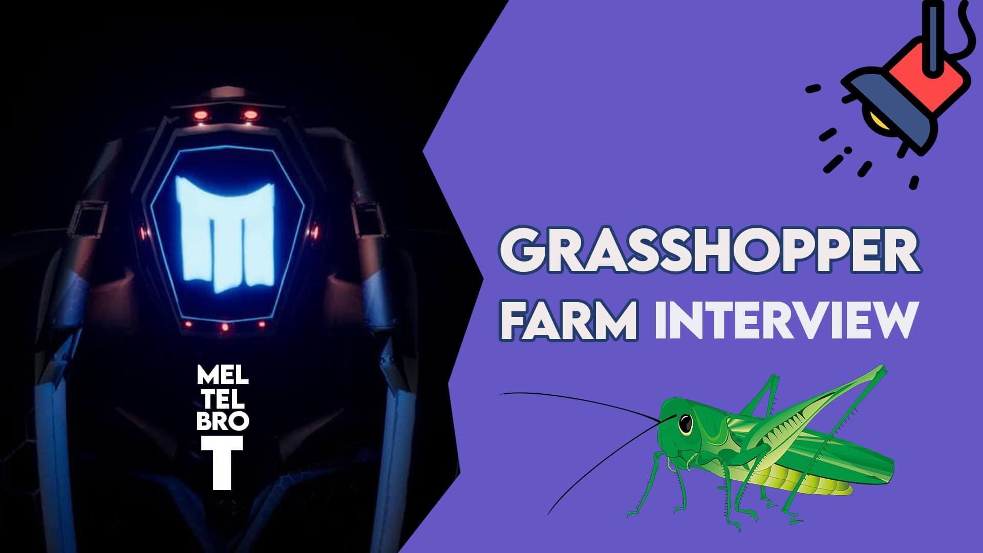 Interview with Grasshopper Farm telegram game