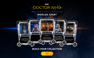 Doctor Who: Worlds Apart Will Launch Its Second Permanent Card Set, 'Time Lord Victorious', on August 26th2021.