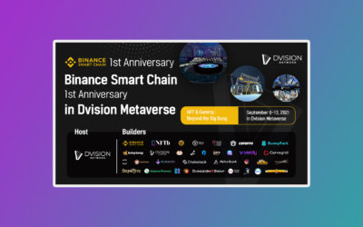 Binance Smart Chain To Celebrate Its 1st Anniversary In Dvision Metaverse