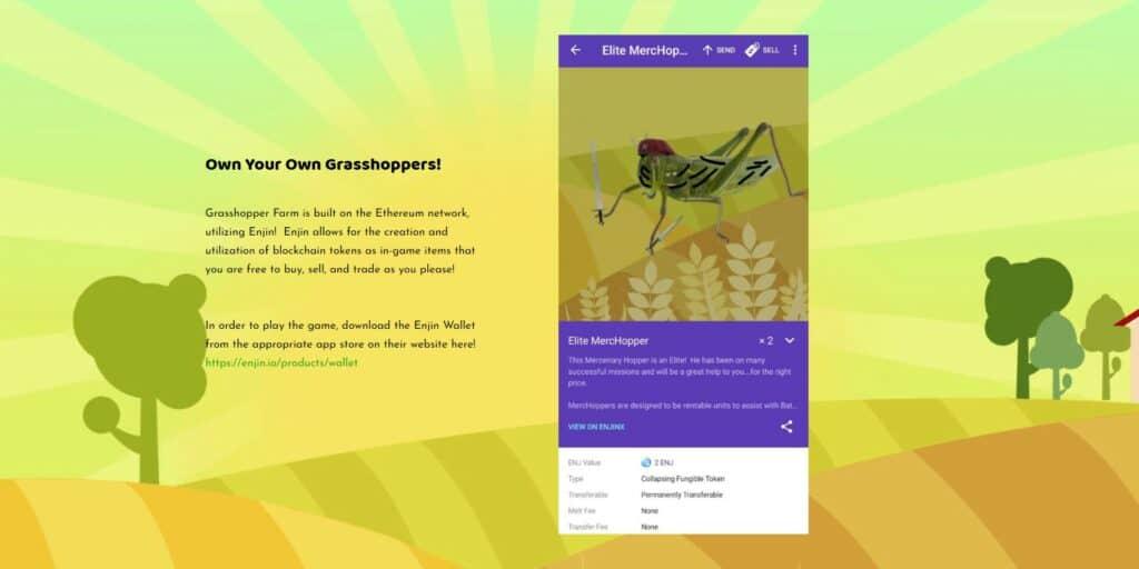 Grasshoper farm elite merchop