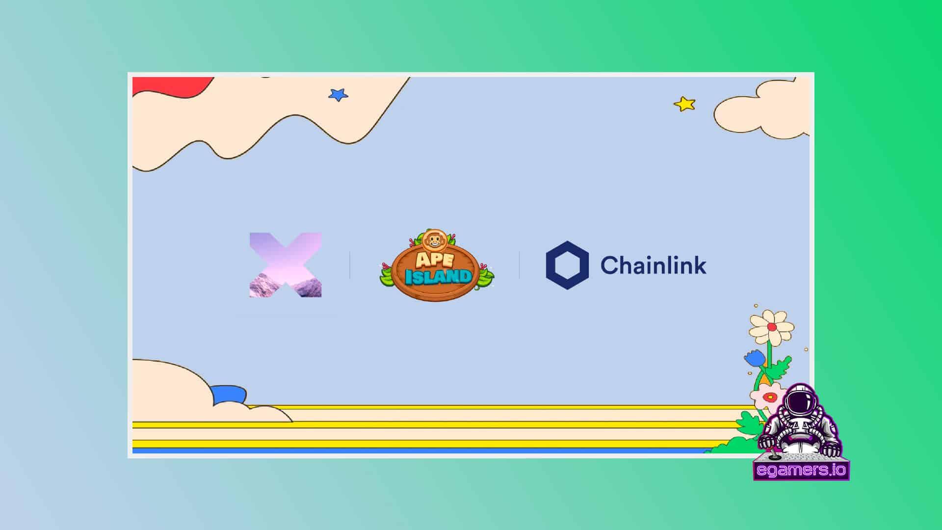PolyientX Integrates Chainlink VRF in APE Island NFT Metaverse