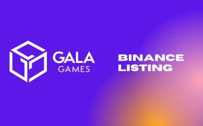 Binance Unexpectedly Lists GALA Token