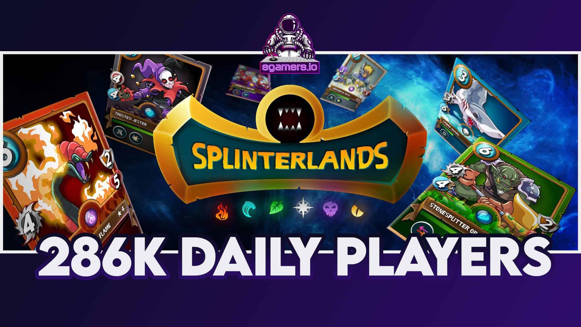 Splinterlands Reaches 286,000 Daily Players
