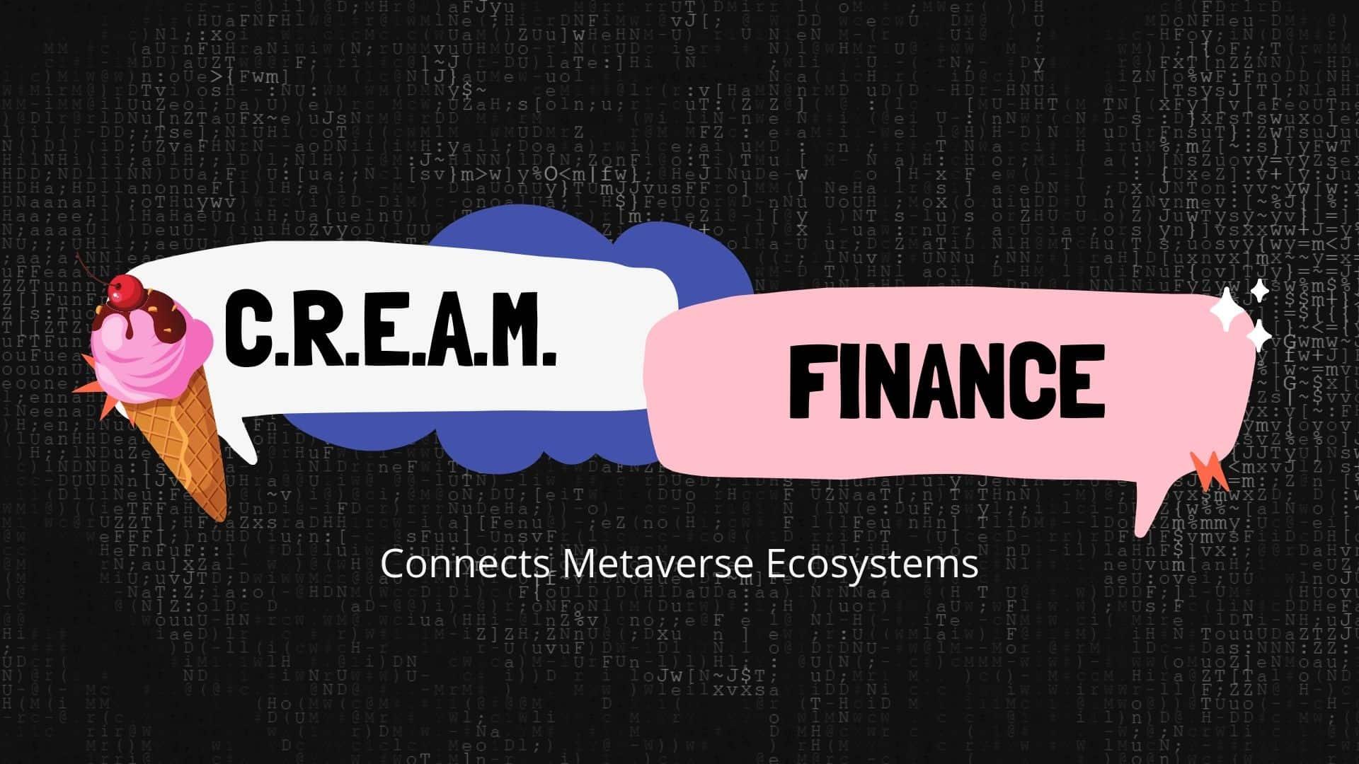 CREAM FINANCE GAMING TOKENS