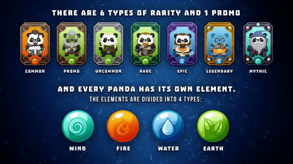 NFT Panda Rarities