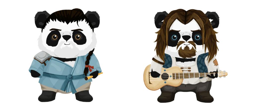 nft panda musicians