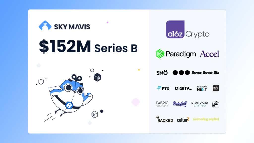 Axie raised 152 million