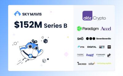 Sky Mavis Raises $152M and Becomes TOP 5 Gaming Company