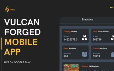 Vulcan Forged Launched Mobile App and Its Really Good