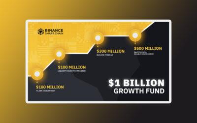 Binance Smart Chain Launches $1 Billion Fund