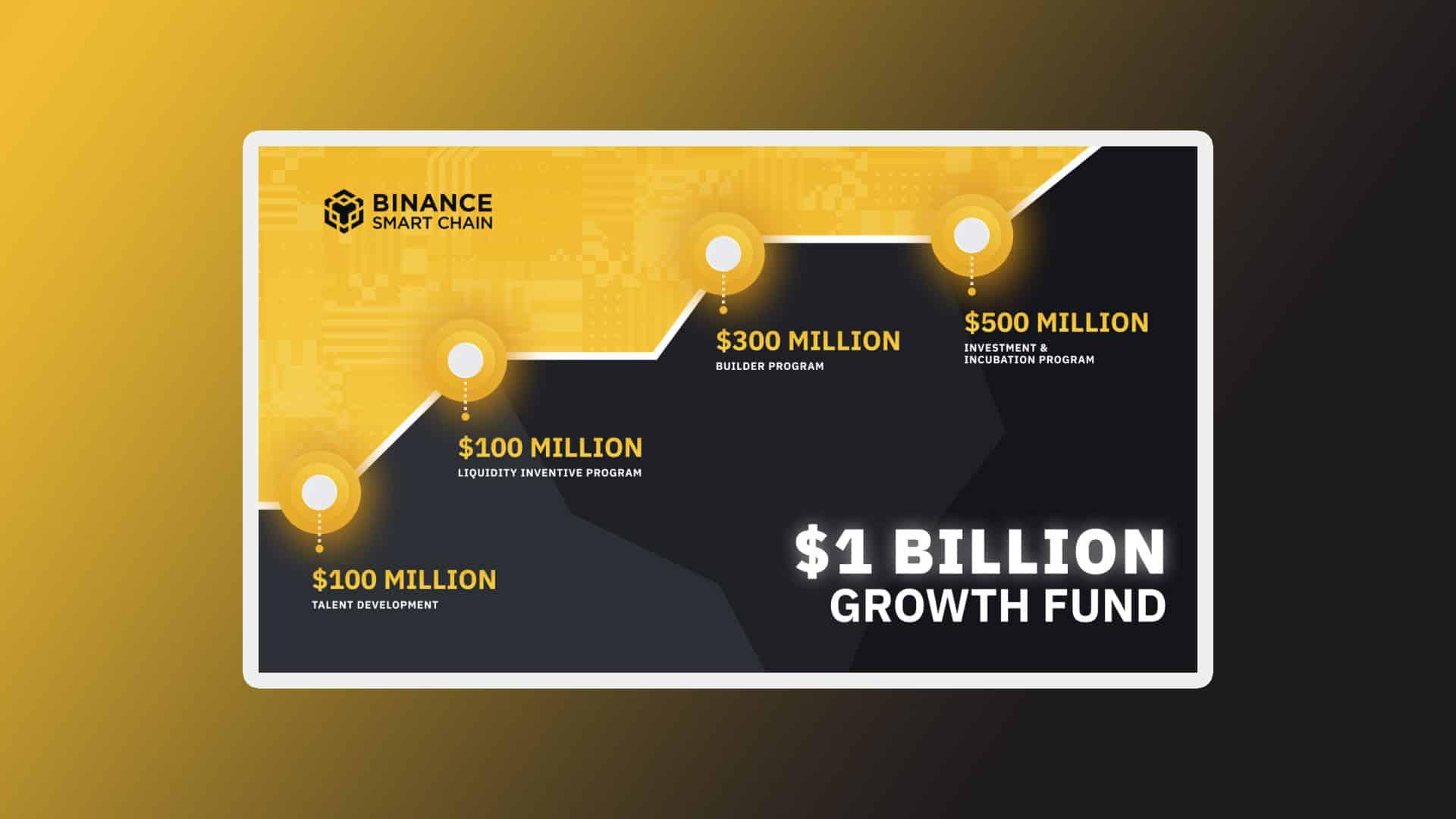 Binance Smart Chain $1 Billion Fund