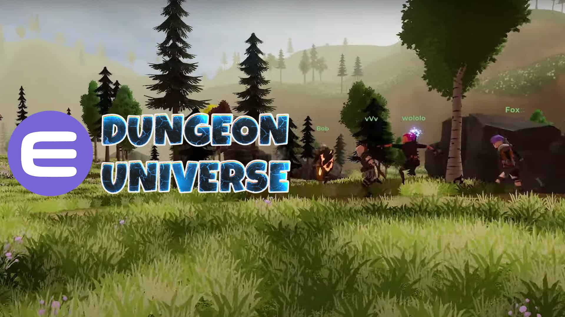 Dungeon Universe MMORPG Enjin Game