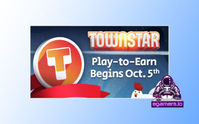 TownStar Goes Play To Earn Today